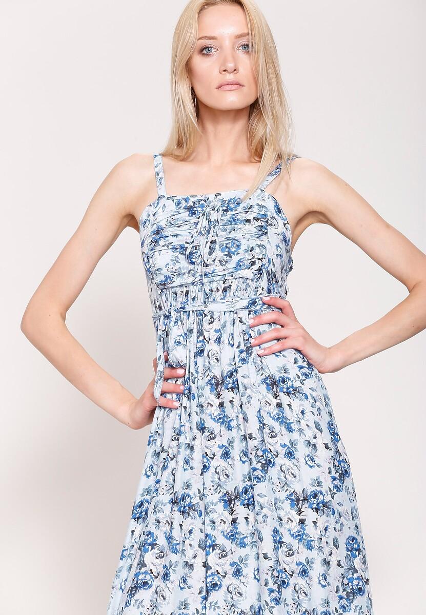 Niebieska Sukienka Dreamy Style