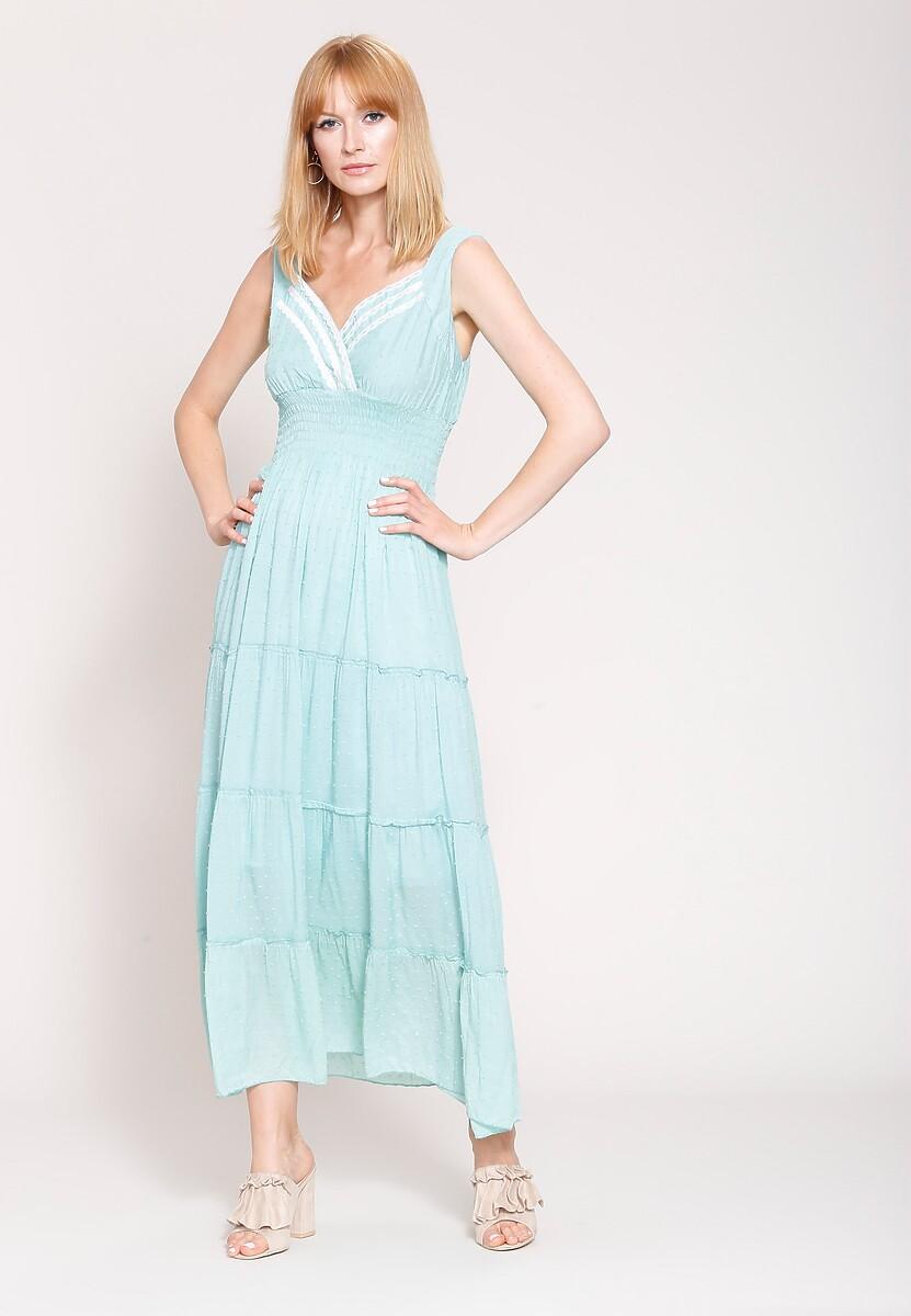 Jasnoniebieska Sukienka Summer Sun