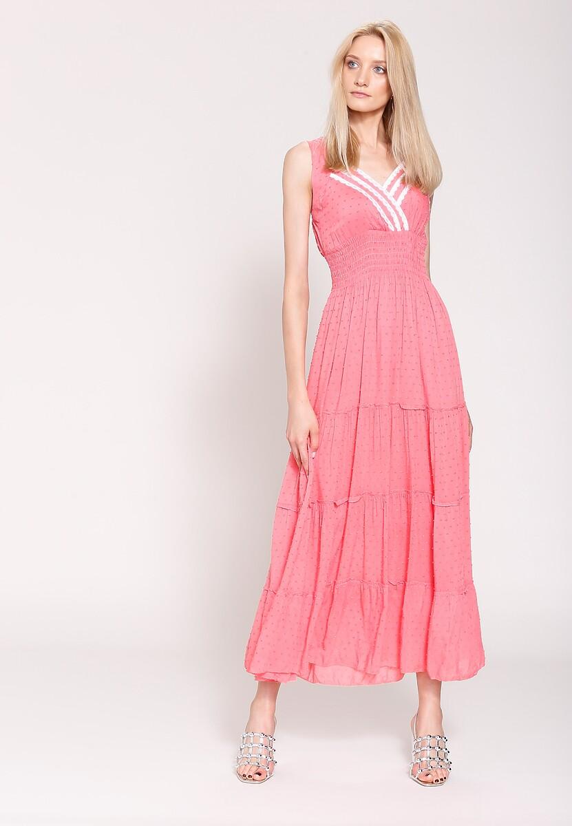Różowa Sukienka Summer Sun