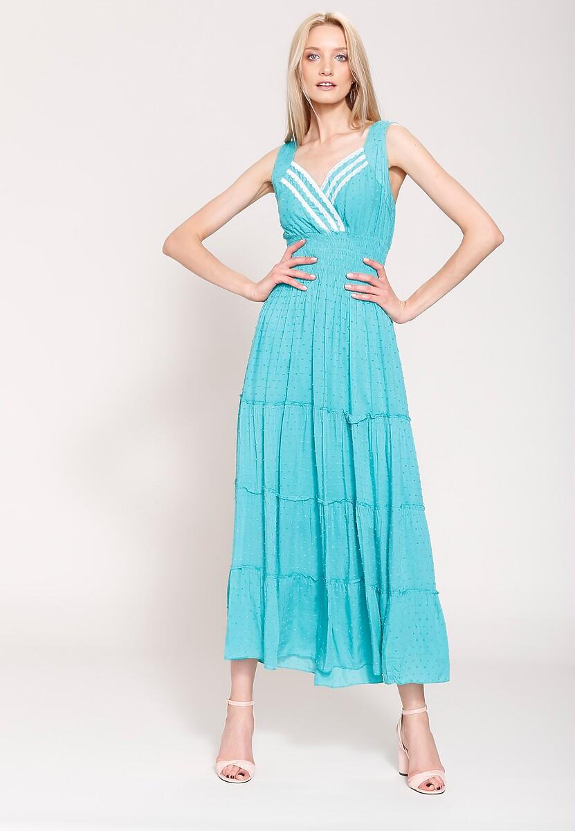 Zielona Sukienka Summer Sun