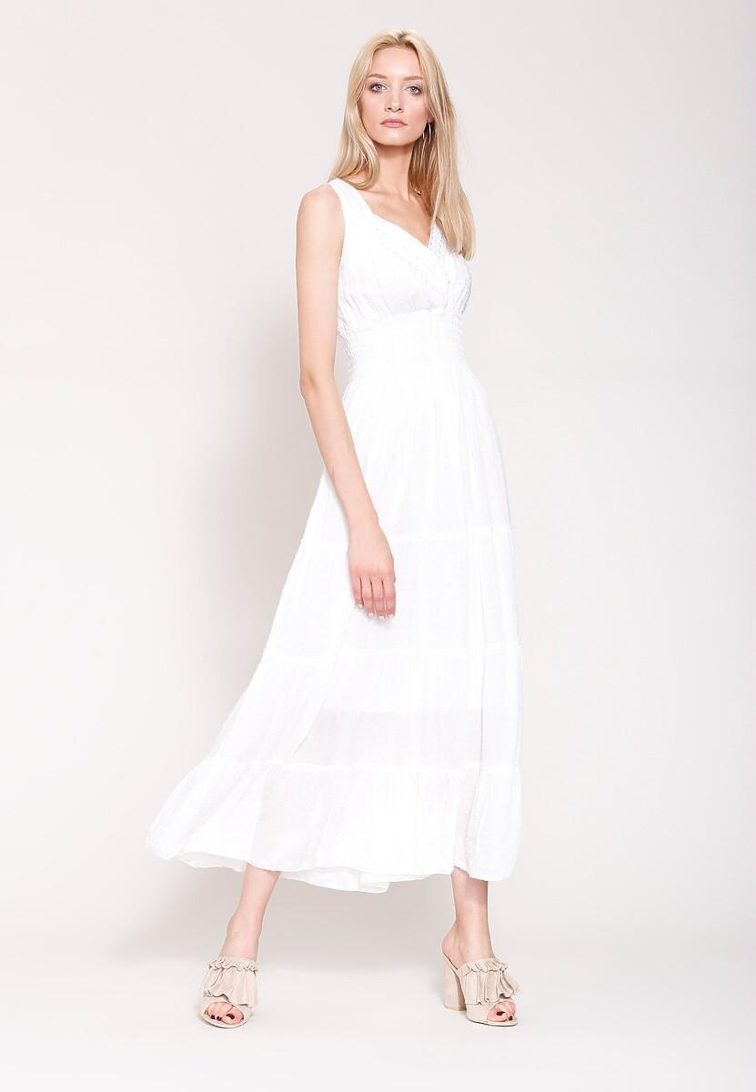 Biała Sukienka Summer Sun