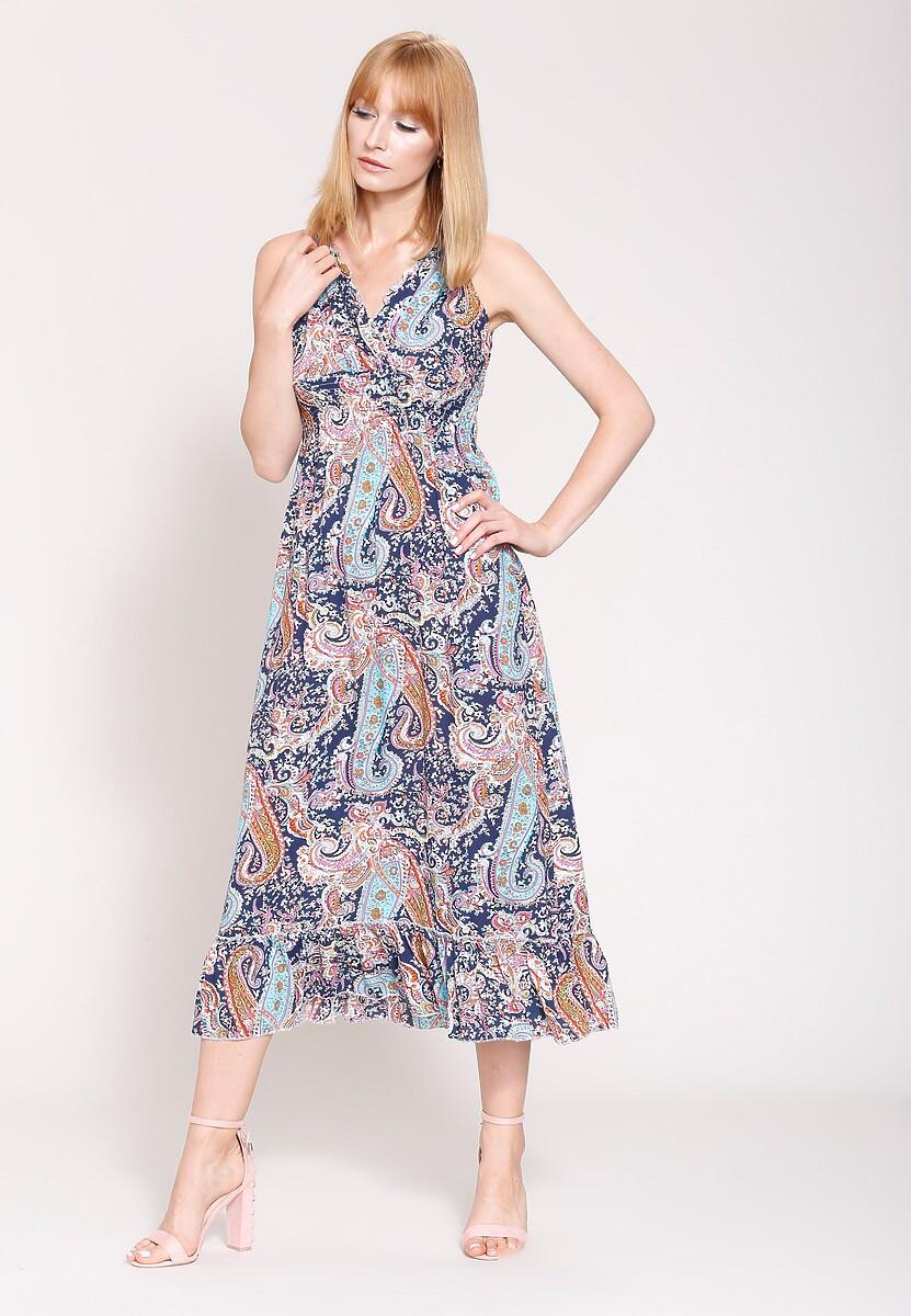 Granatowa Sukienka Colors Of My Dream