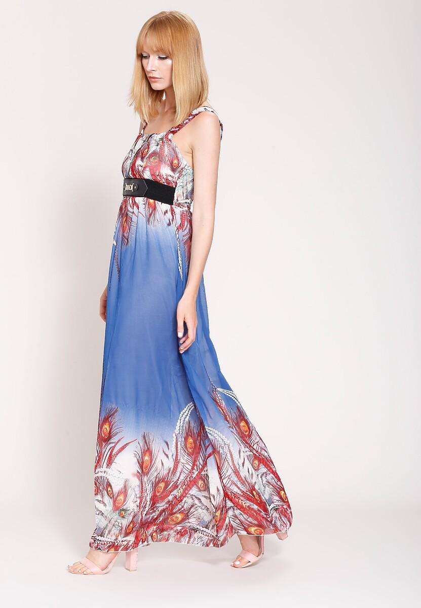 Niebieska Sukienka Best Summer