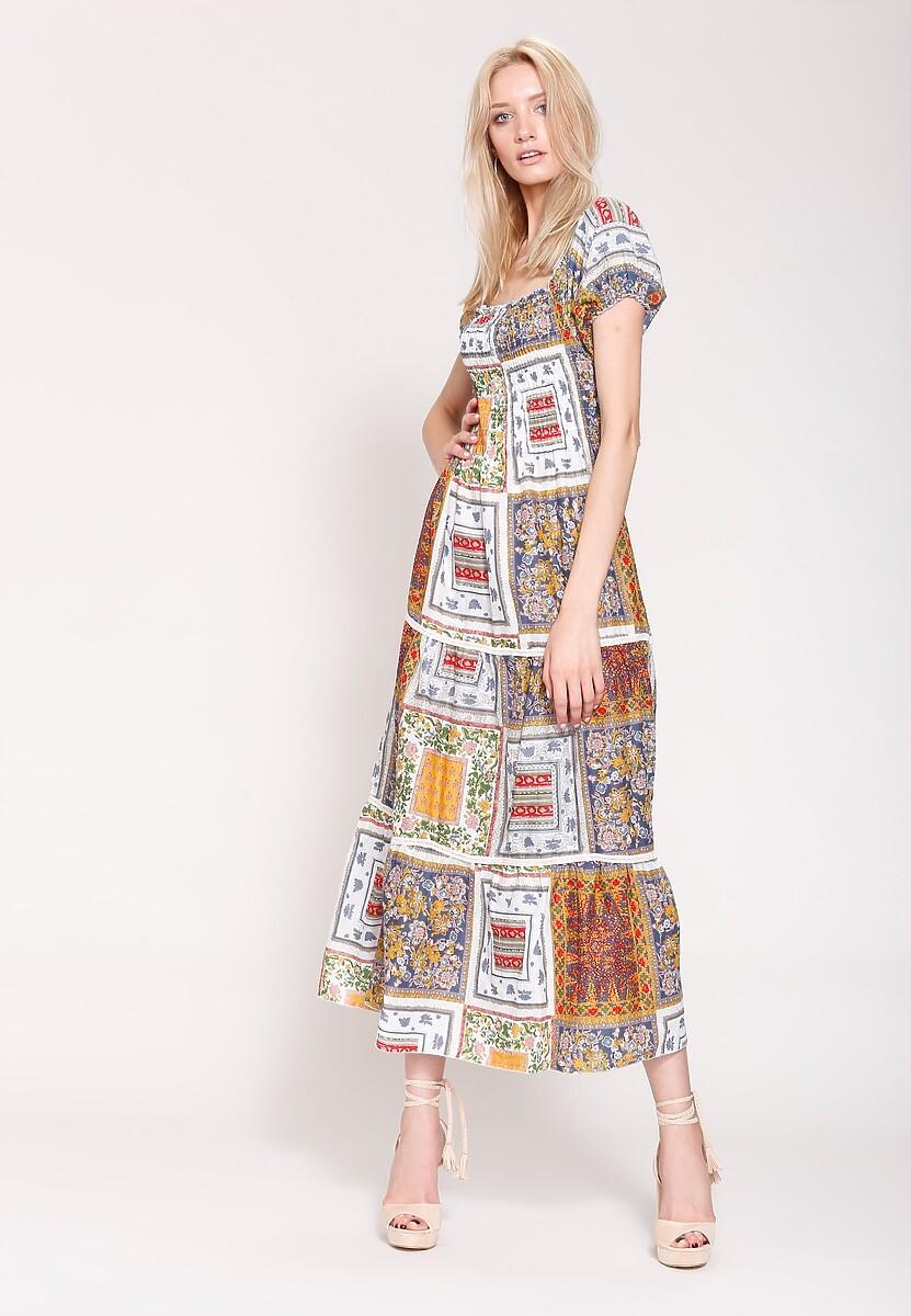 Ciemnoniebieska Sukienka Marakesh's Sun