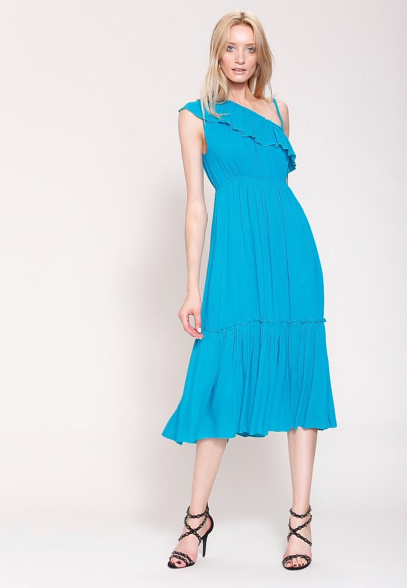 Niebieska Sukienka Fantasy World