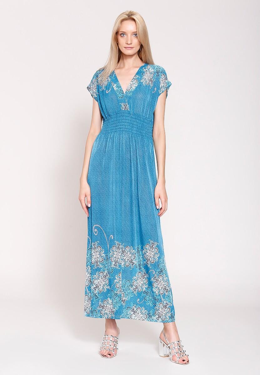 Niebieska Sukienka Arabic Nights