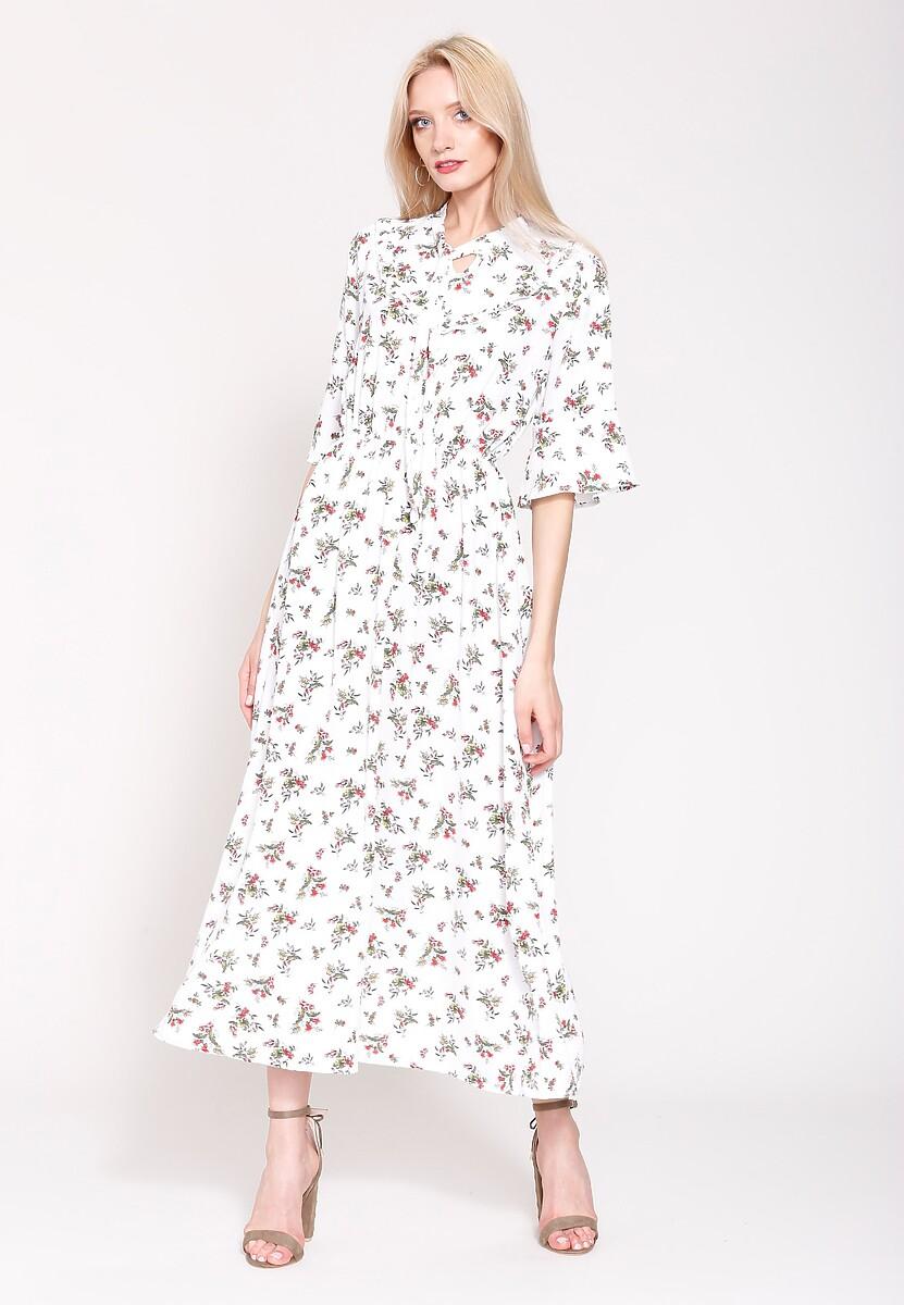 Biała Sukienka Promiscuous Girl