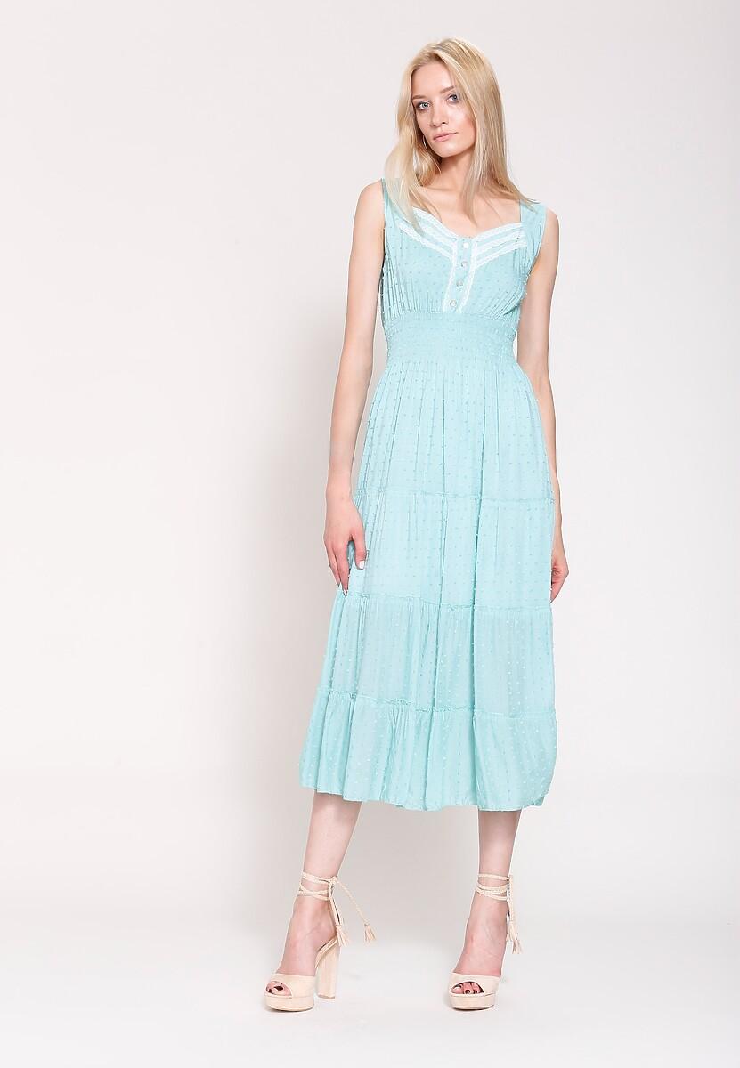 Miętowa Sukienka Colours of Summer