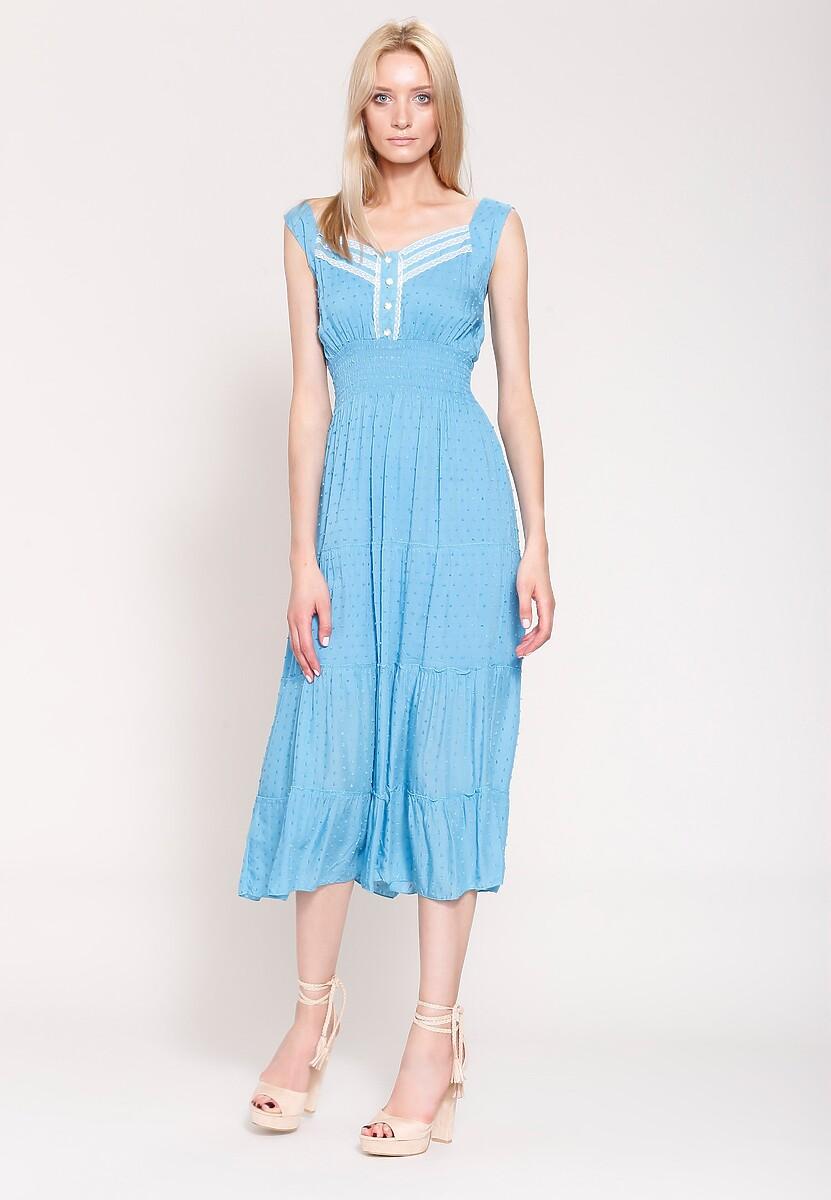 Niebieska Sukienka Colours of Summer