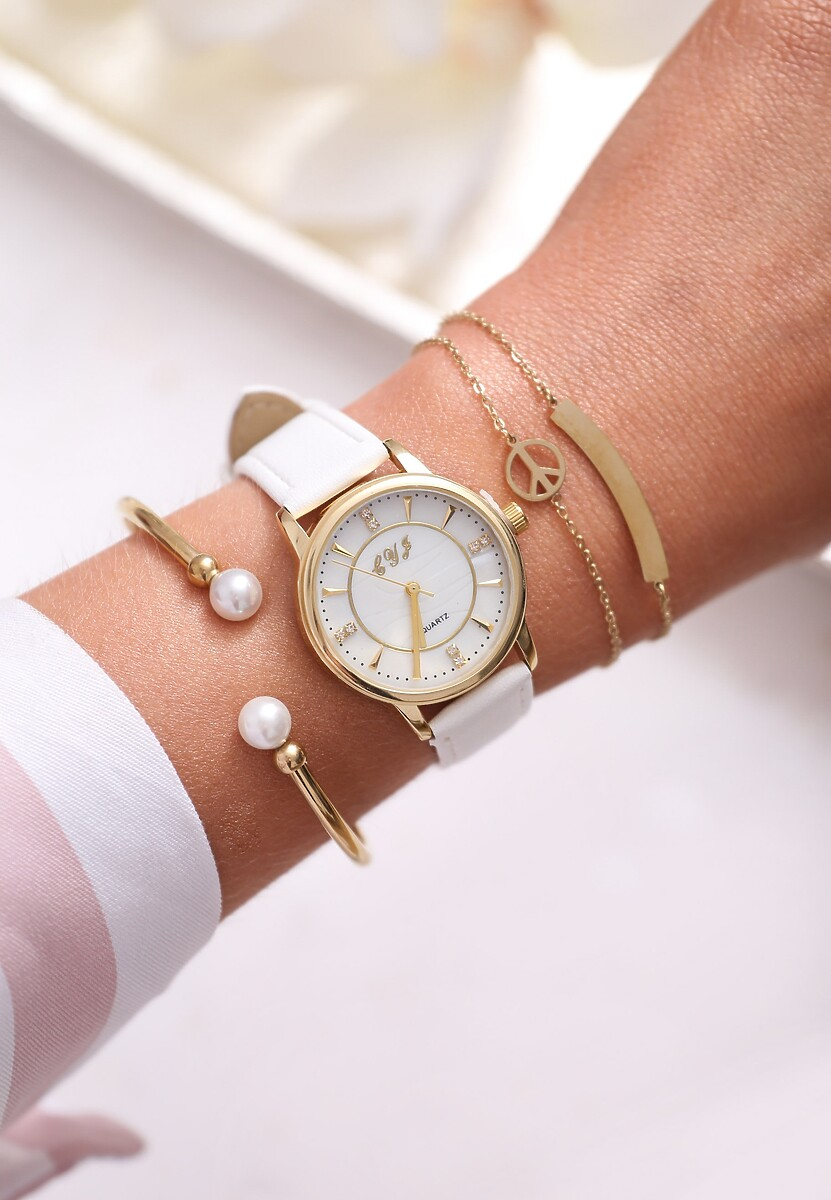 Biały Zegarek Last Time