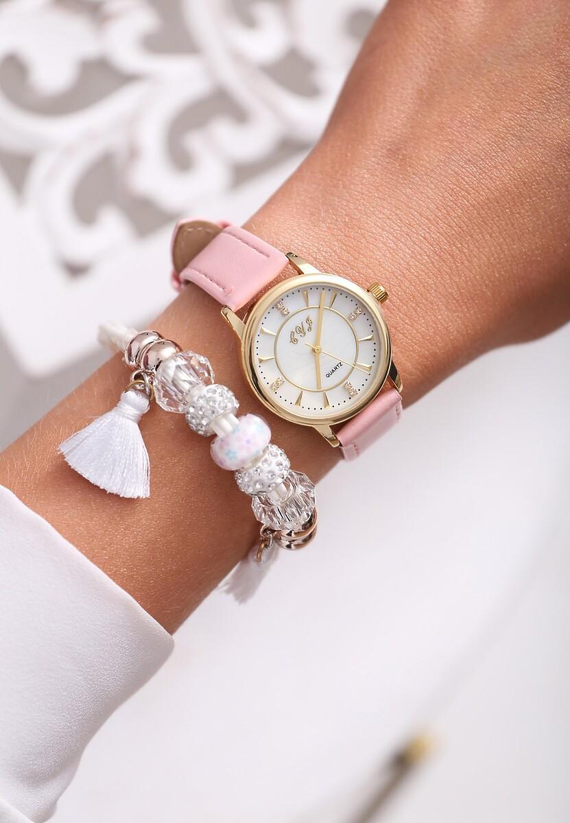 Różowy Zegarek Last Time