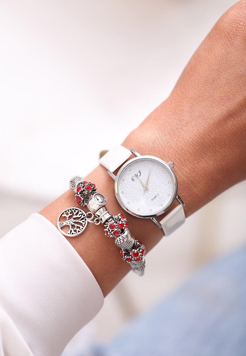 Biały Zegarek Dune