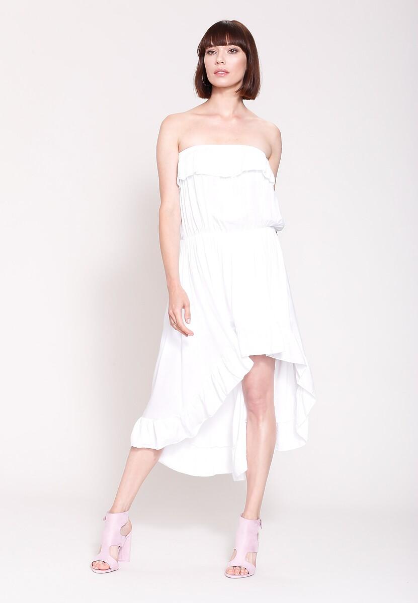 Biała Sukienka Turn Up The Power