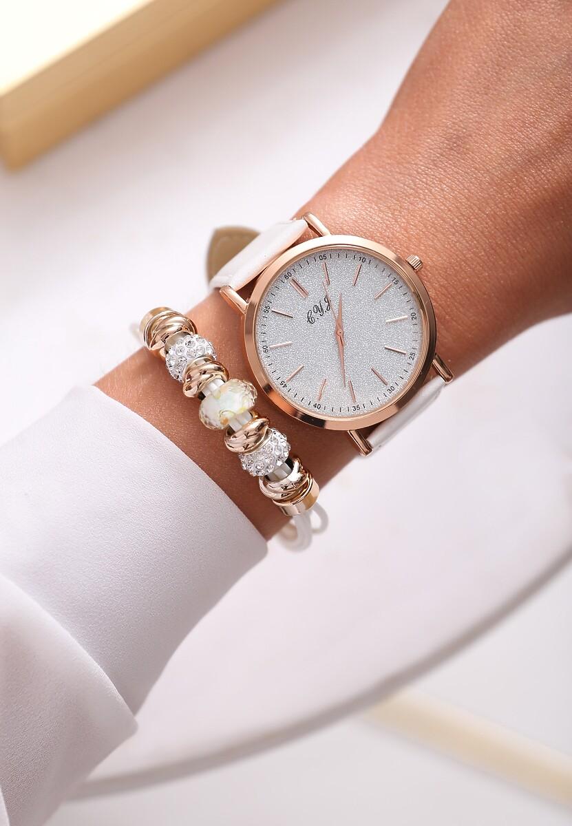 Biało-Złoty Zegarek You Have Won