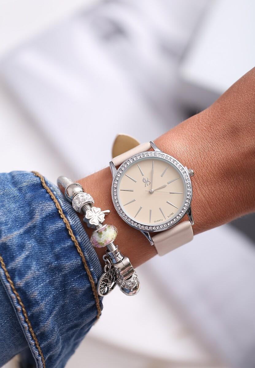 Beżowy Zegarek I Have Us