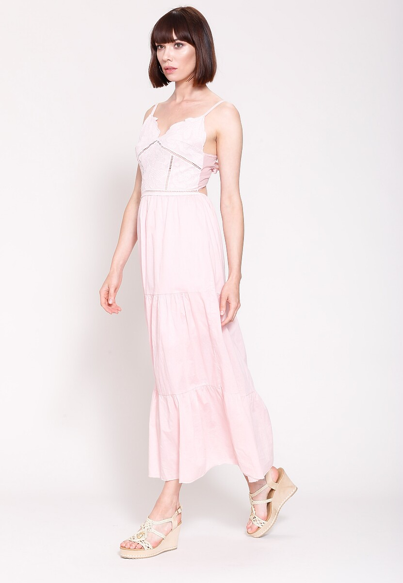 Jasnoróżowa Sukienka Givea Little More