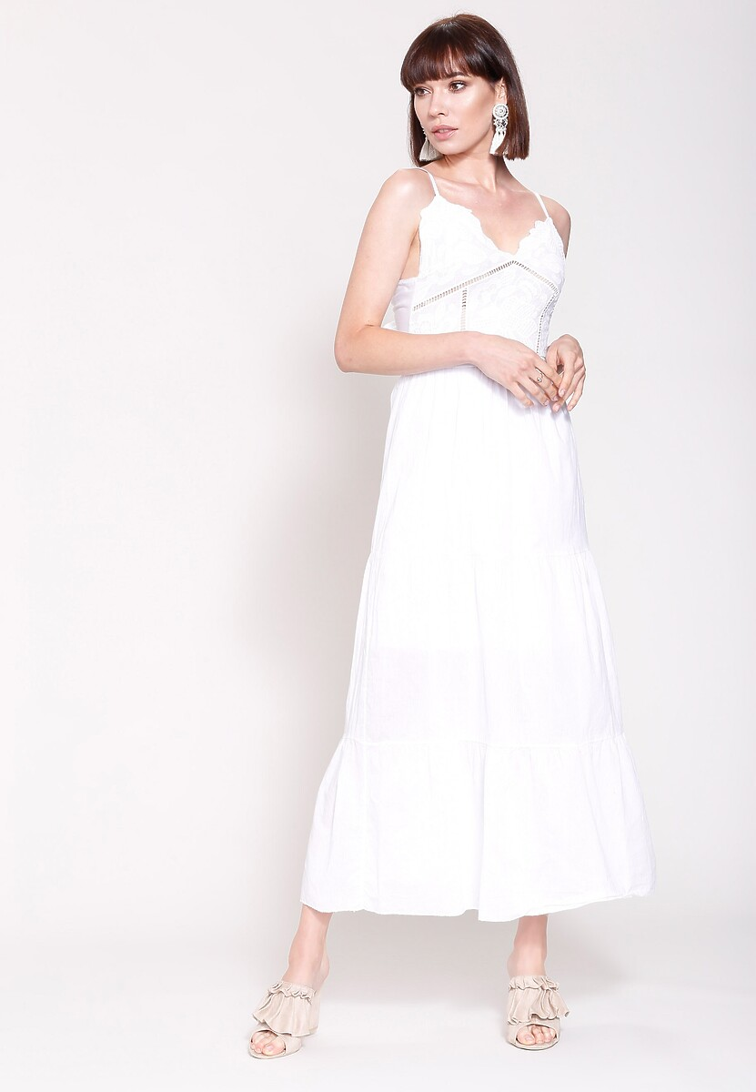 Biała Sukienka Give a Little More