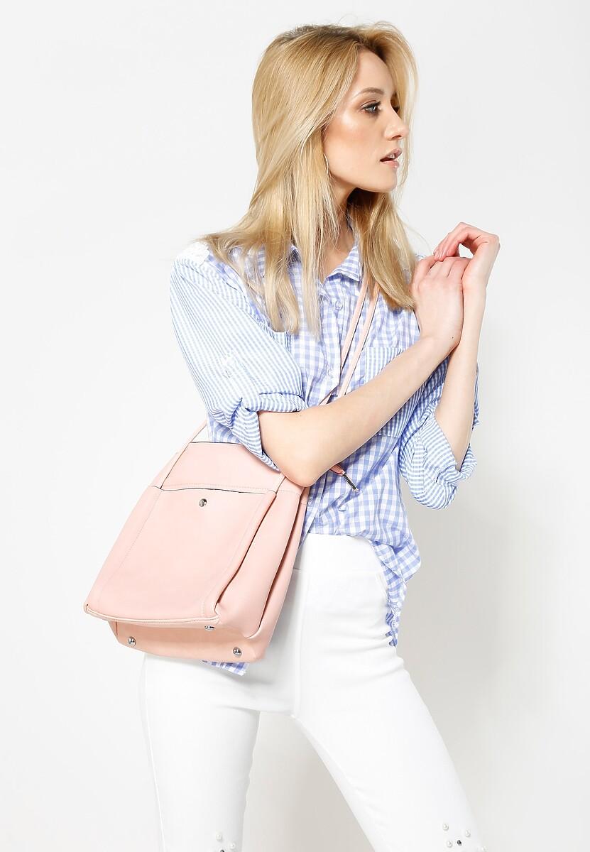 Różowa Torebka Go Shopping!