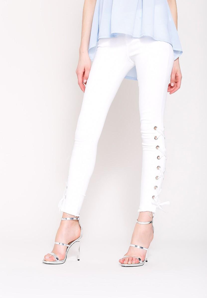 Białe Spodnie One More Time