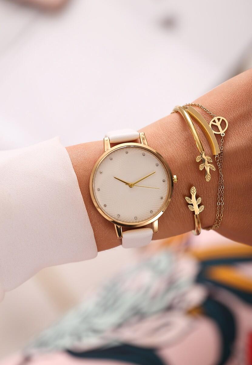 Biały Zegarek Modern Mood