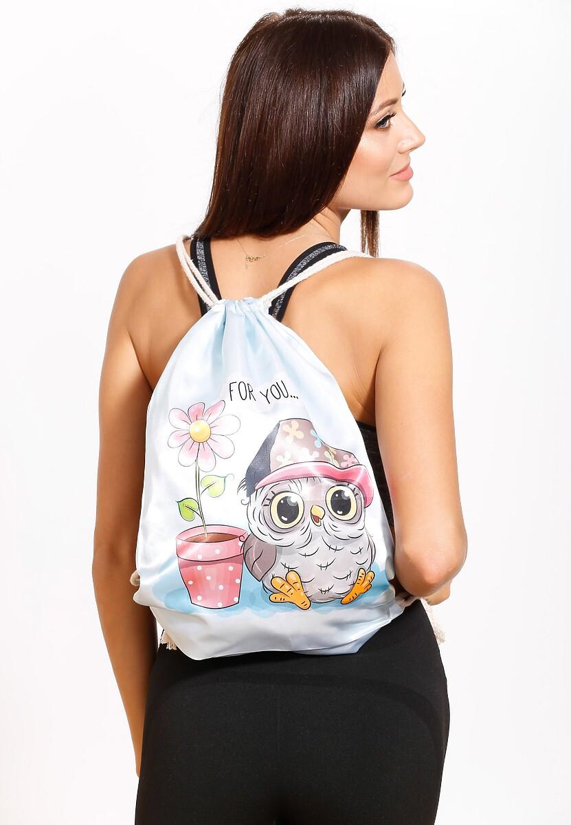 Jasnoniebieski Plecak So Sweet