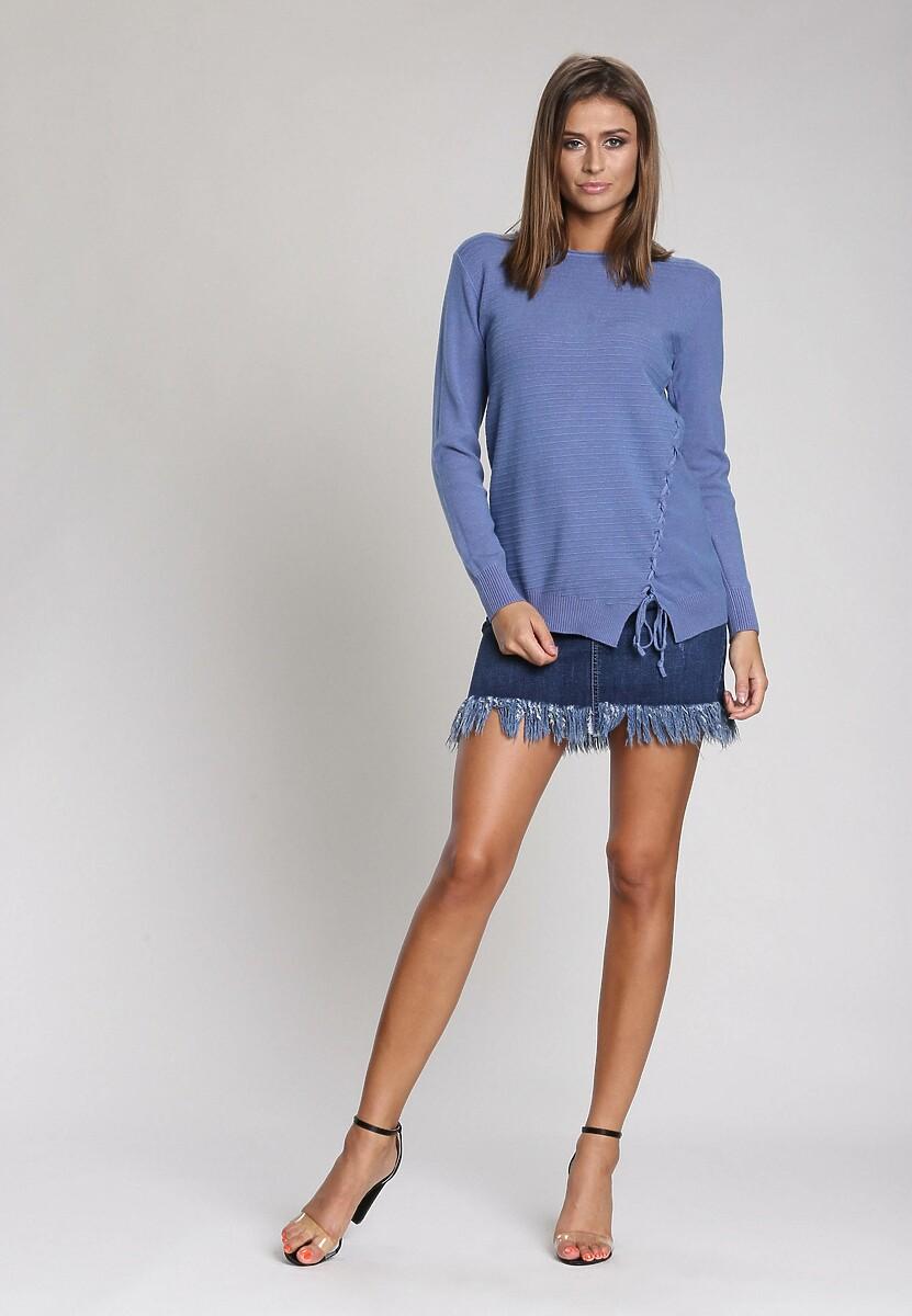 Niebieski Sweter Lust For Life