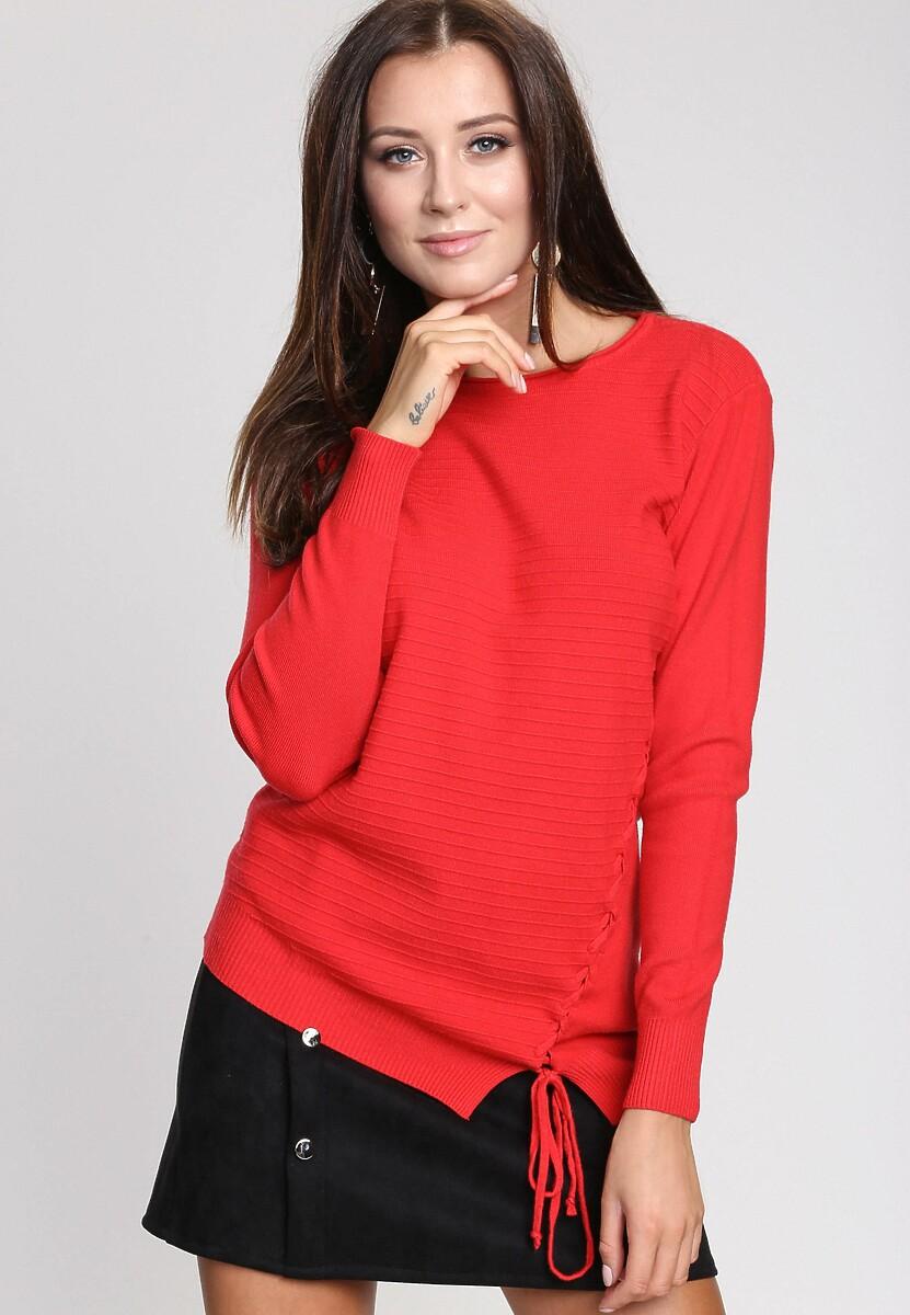 Czerwony Sweter Lust For Life