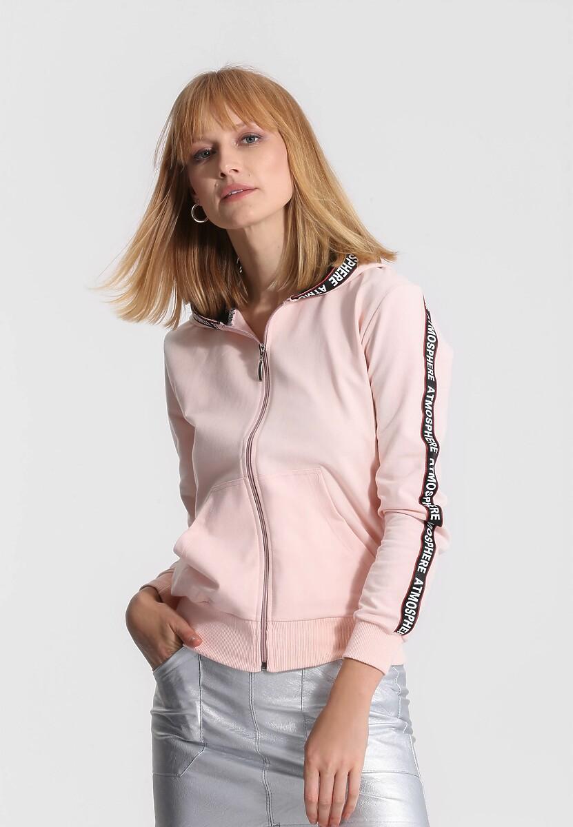 Różowa Bluza Long Ago