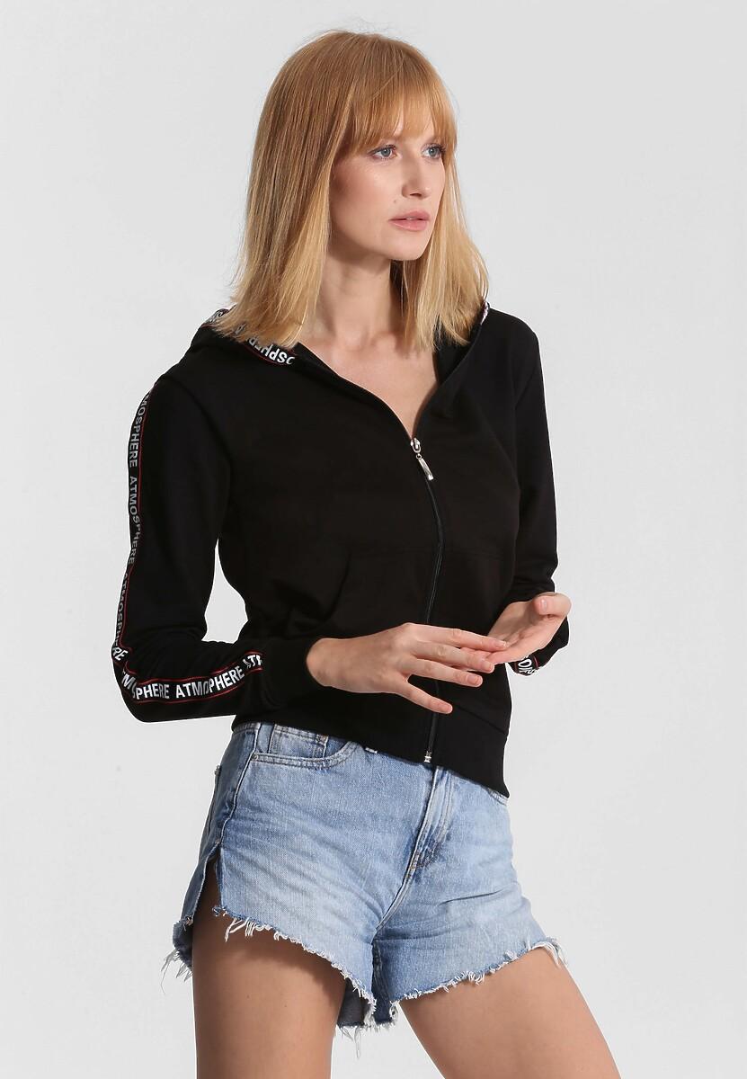 Czarna Bluza Long Ago