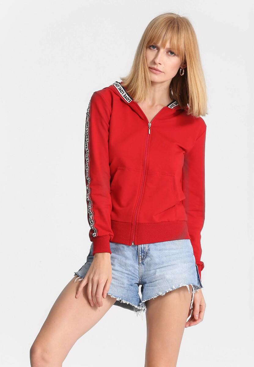 Czerwona Bluza Long Ago