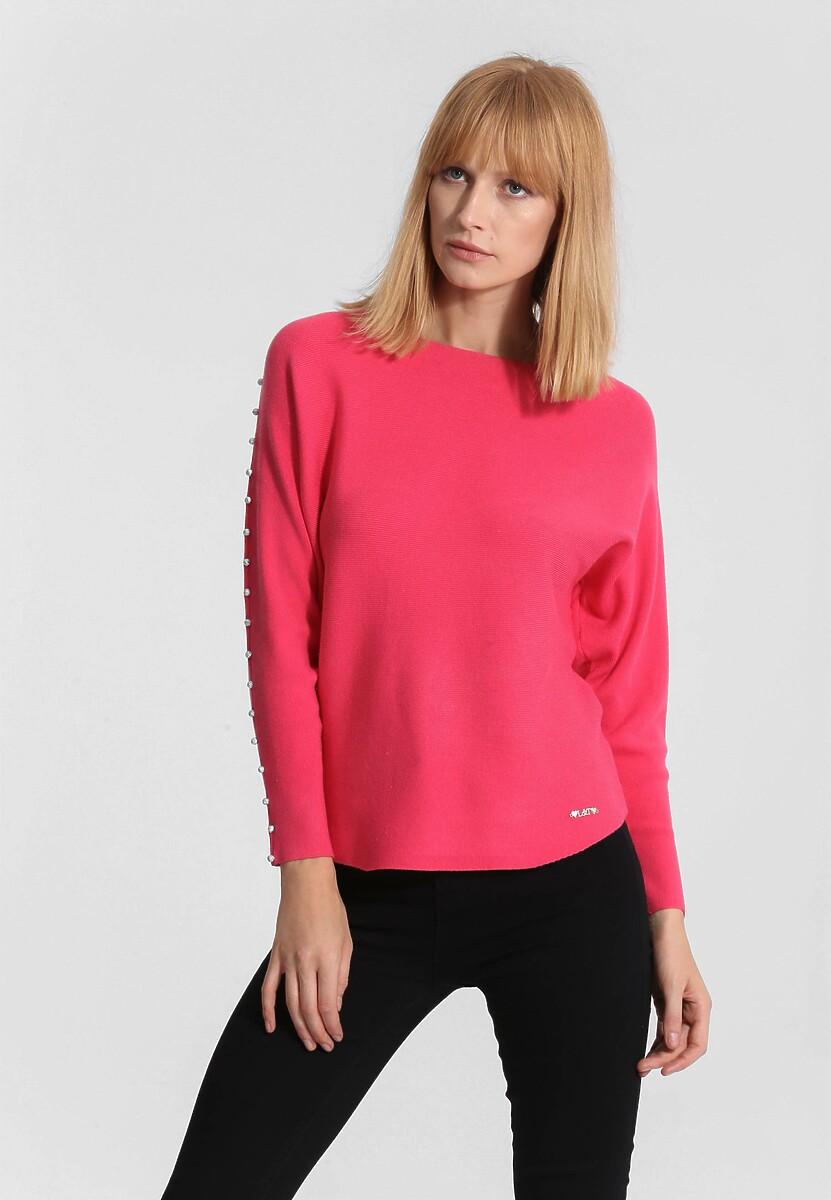 Koralowy Sweter Around Us