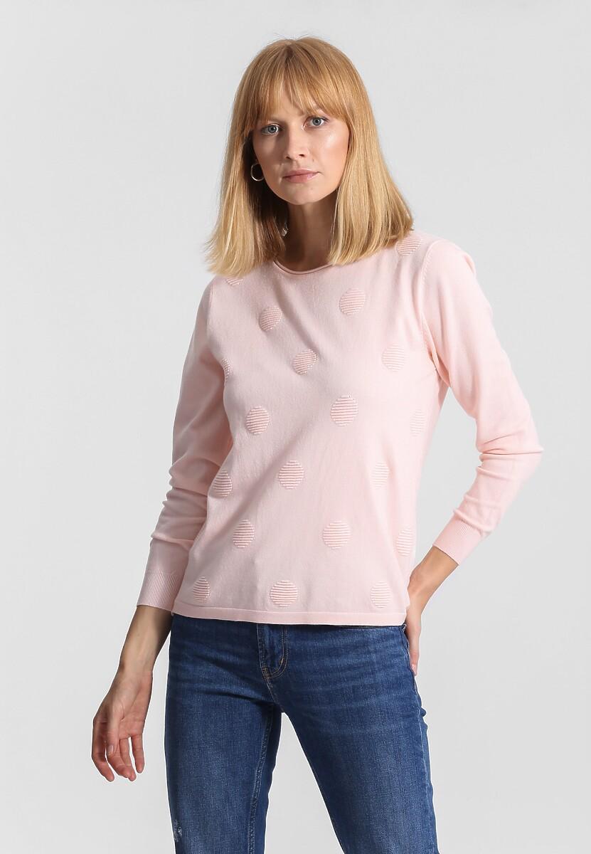 Jasnoróżowy Sweter Your Choice