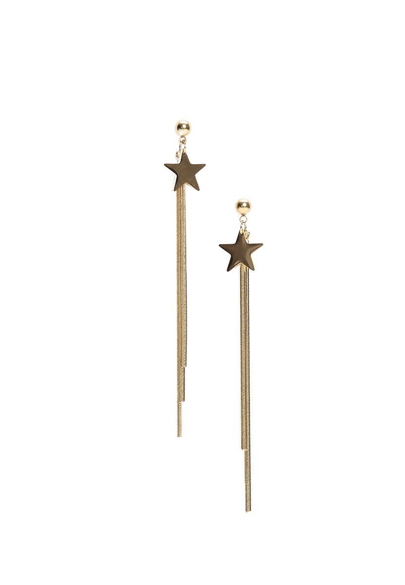 Złote Kolczyki Only Star