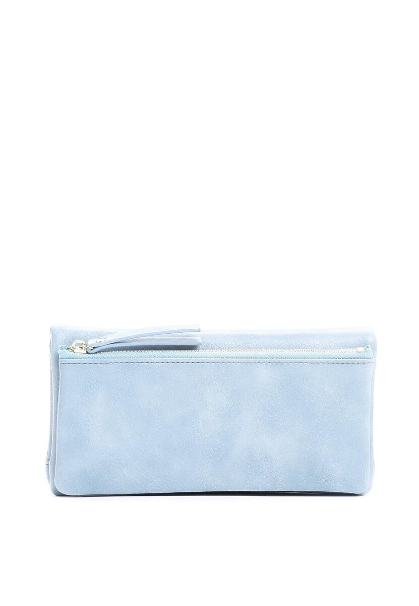 Niebieski Portfel Zipping Time