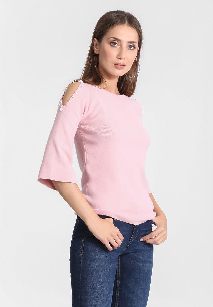 Różowy Sweter Empathy For You