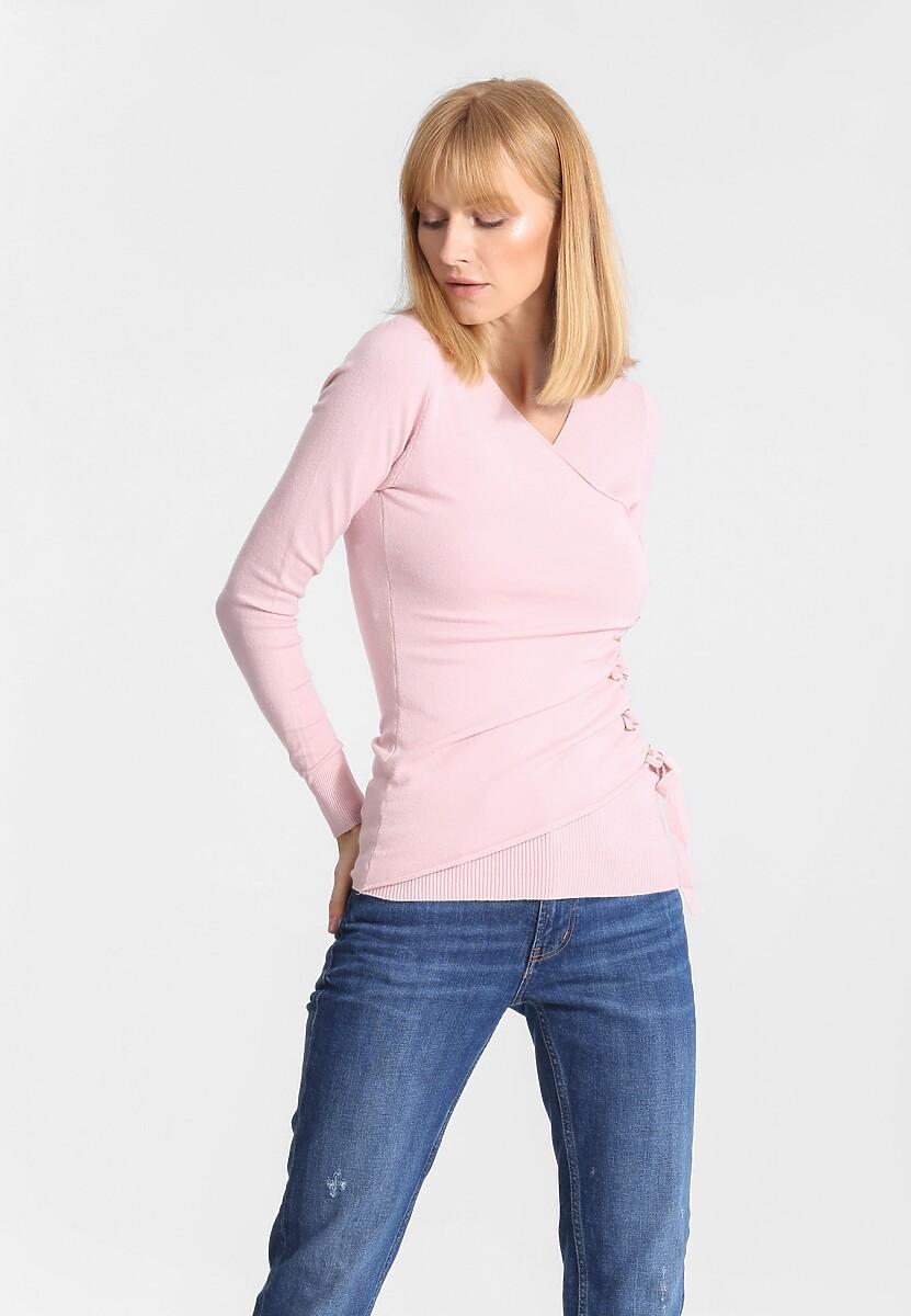 Różowy Sweter Full Of Mercy