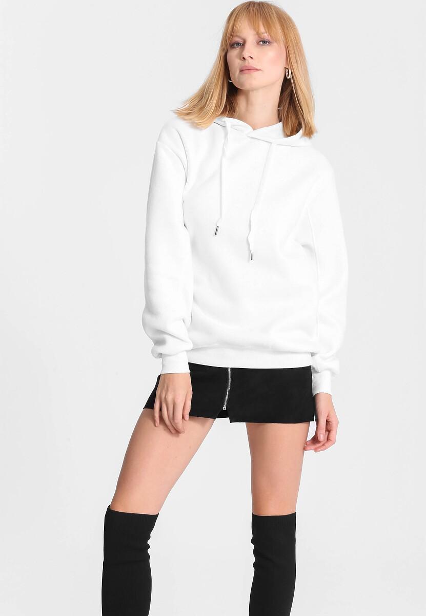 Biała Bluza Cool Fit