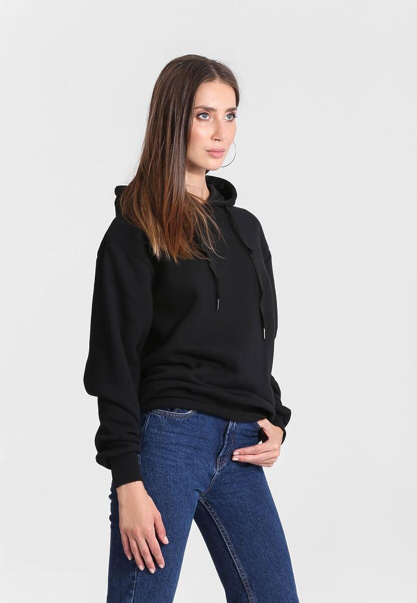 Czarna Bluza Cool Fit