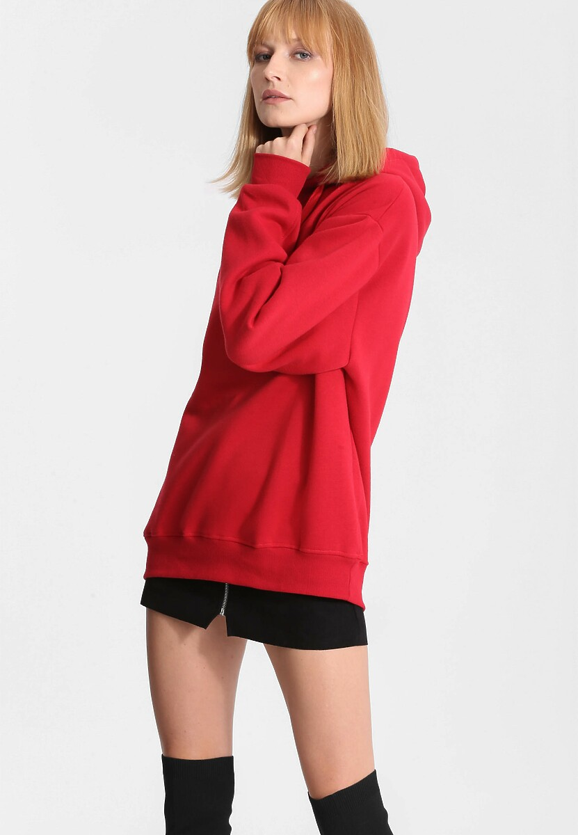 Czerwona Bluza Cool Fit
