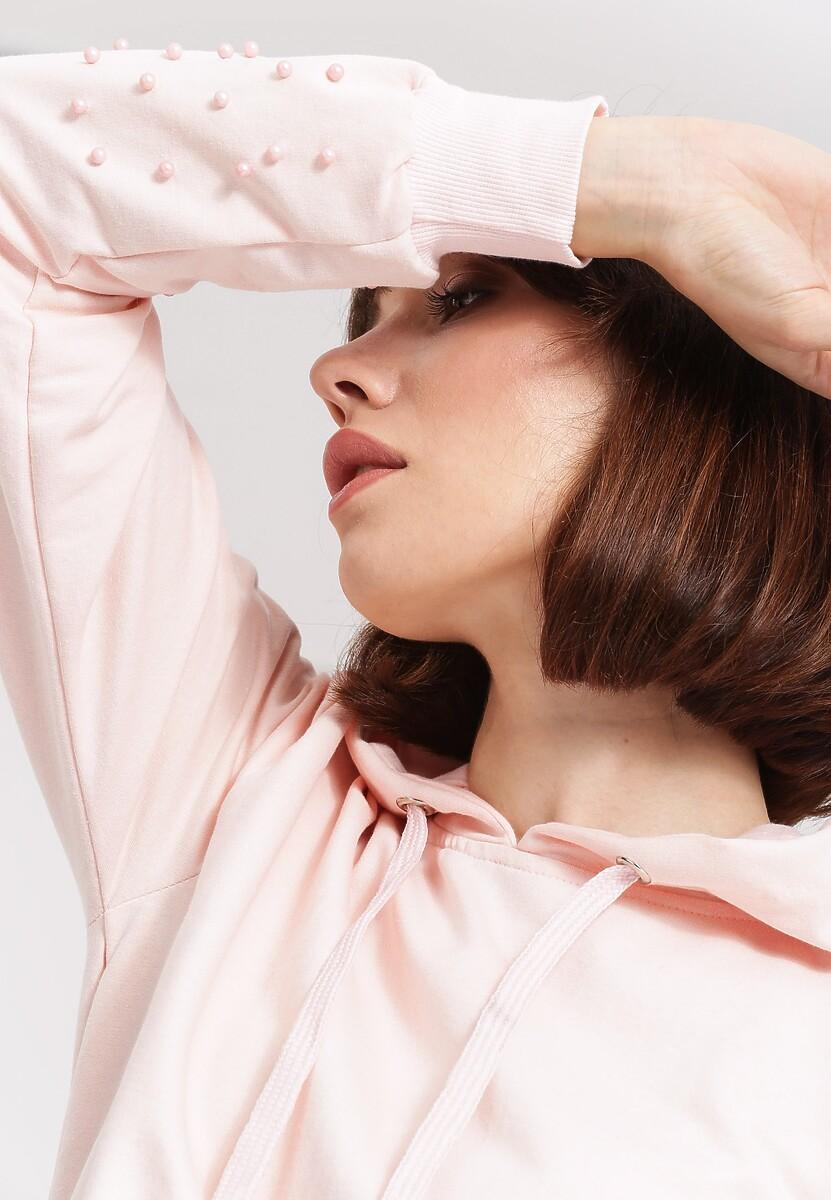 Różowa Bluza Comfort Zone
