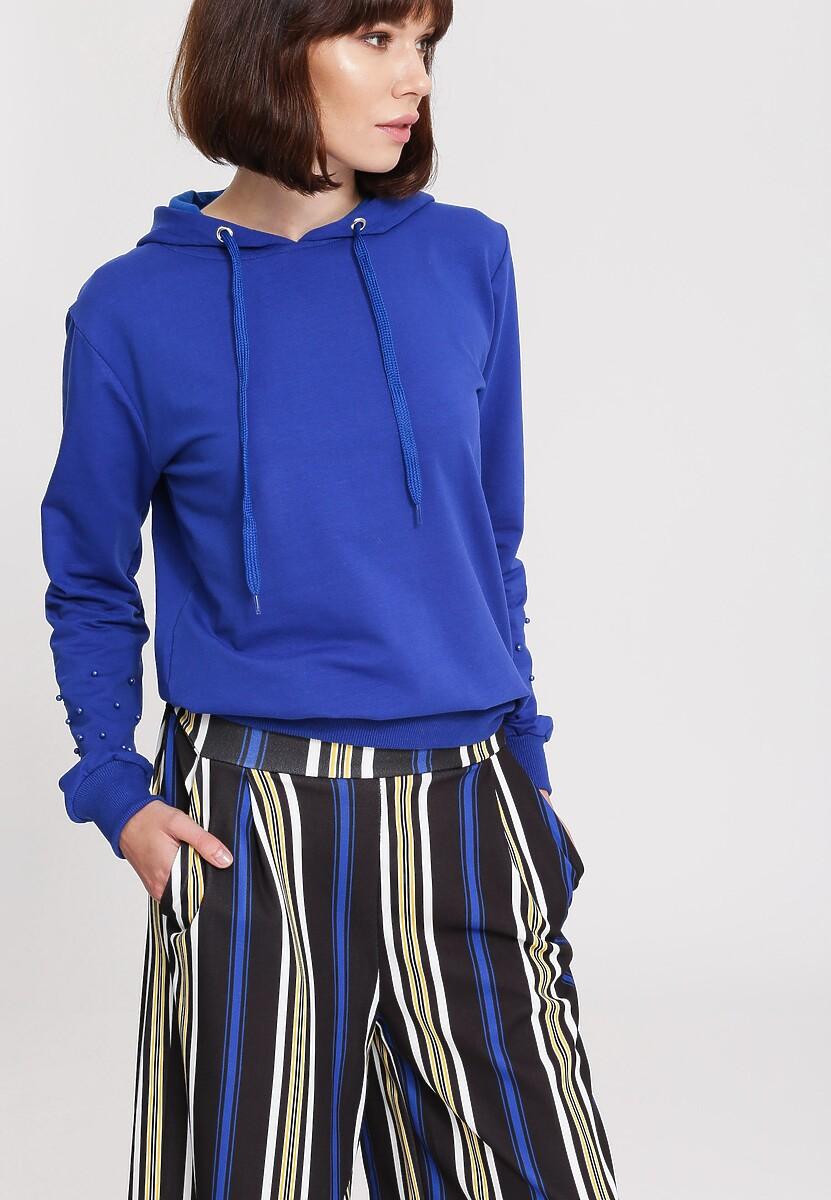 Kobaltowa Bluza Comfort Zone