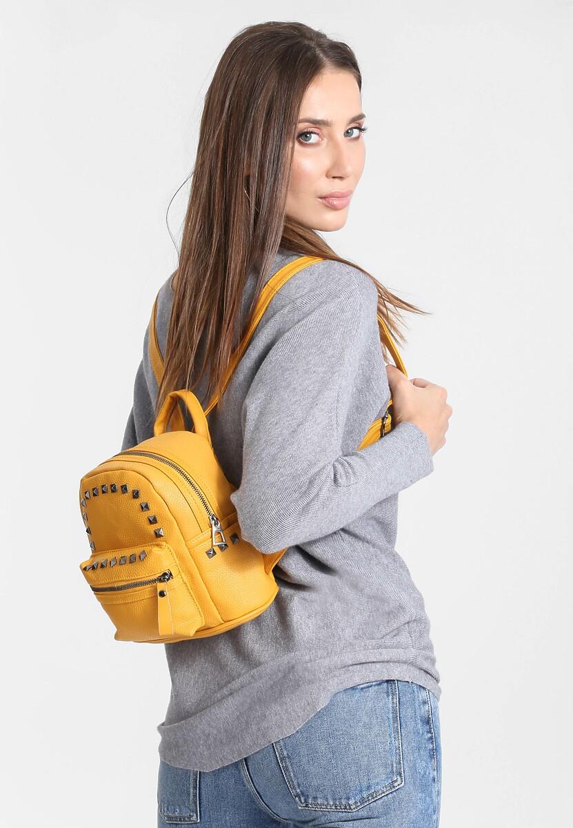 Żółty Plecak Many Points