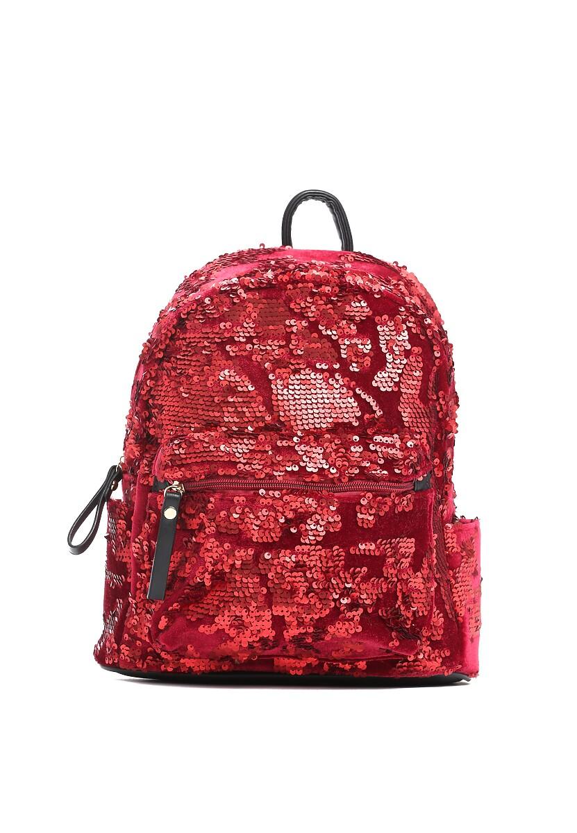 Czerwony Plecak Sparkle Sky