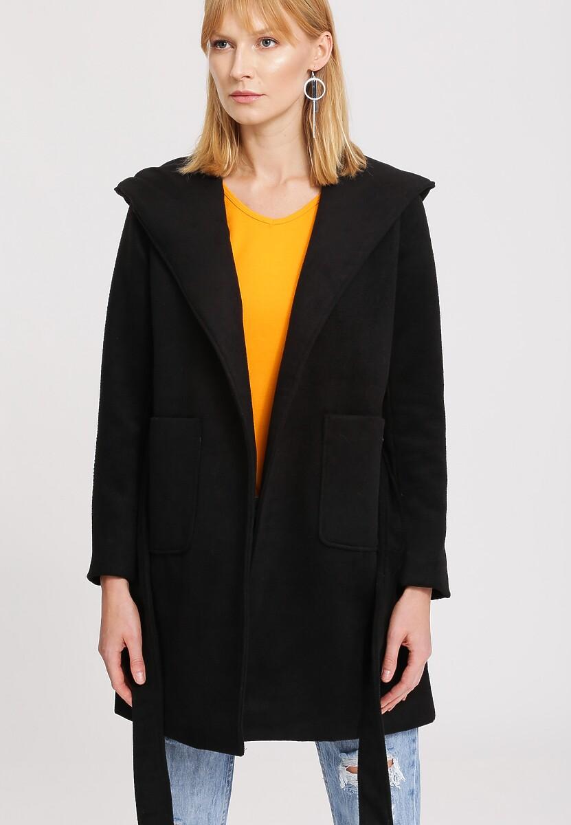 Czarny Płaszcz Autumn Breeze