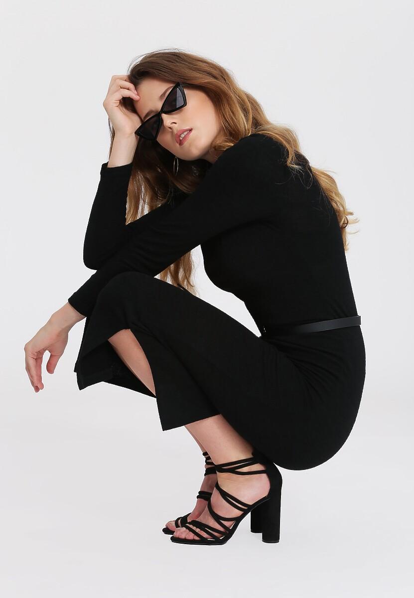 Czarna Sukienka Moody