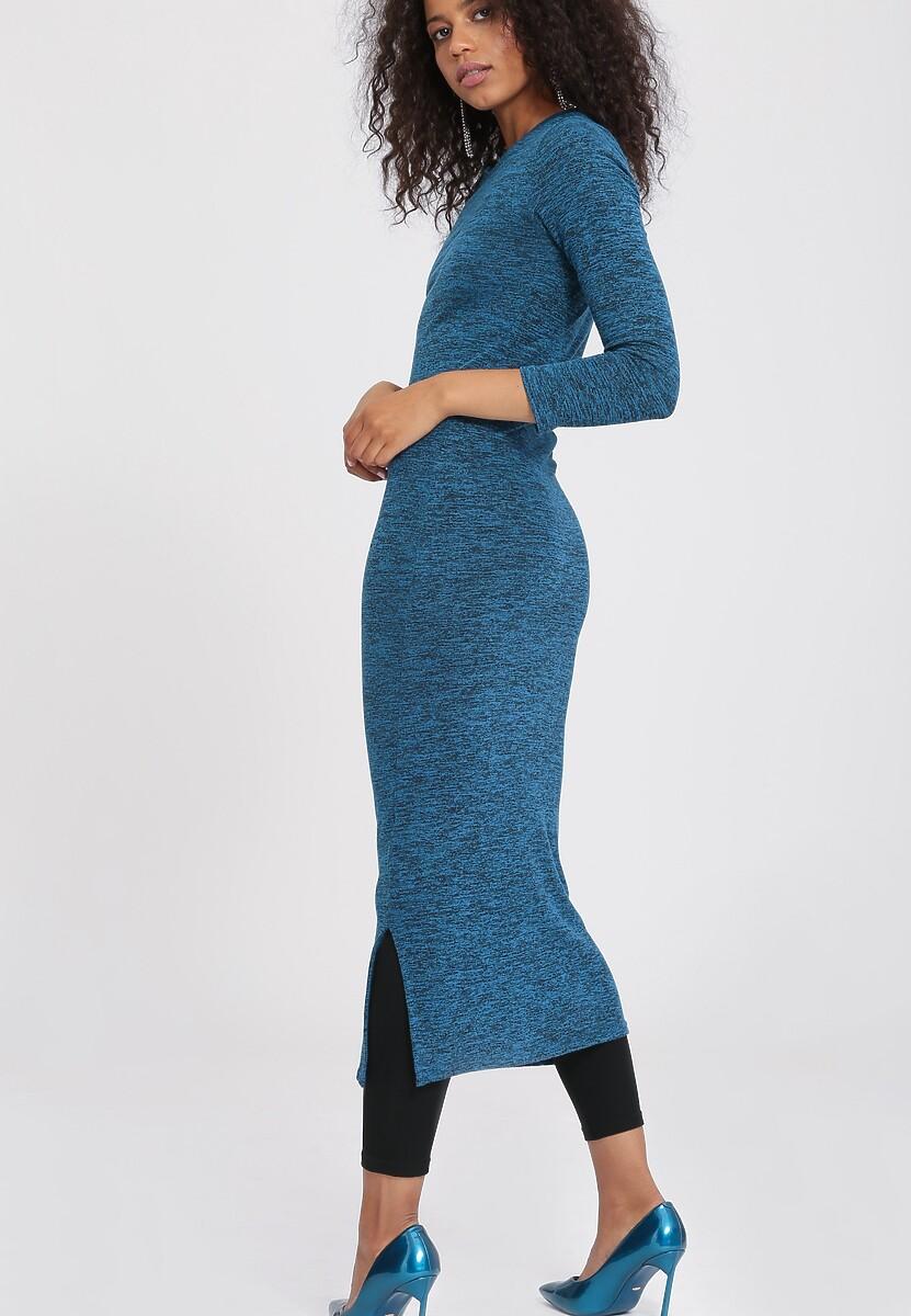 Ciemnoniebieska Sukienka Moody