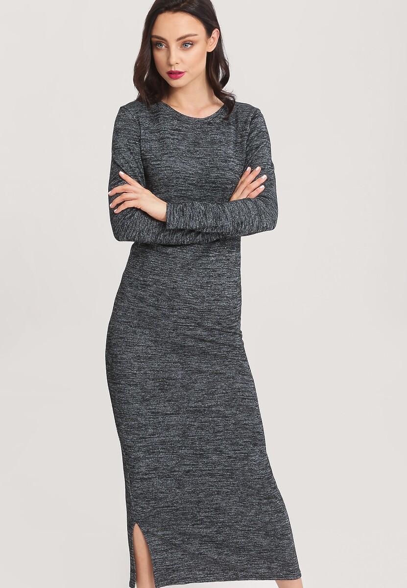 Ciemnoszara Sukienka Moody