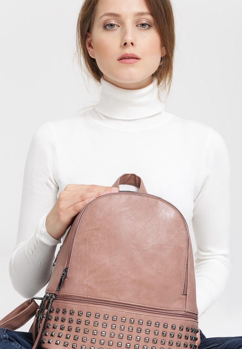 Ciemnoróżowy Plecak Single