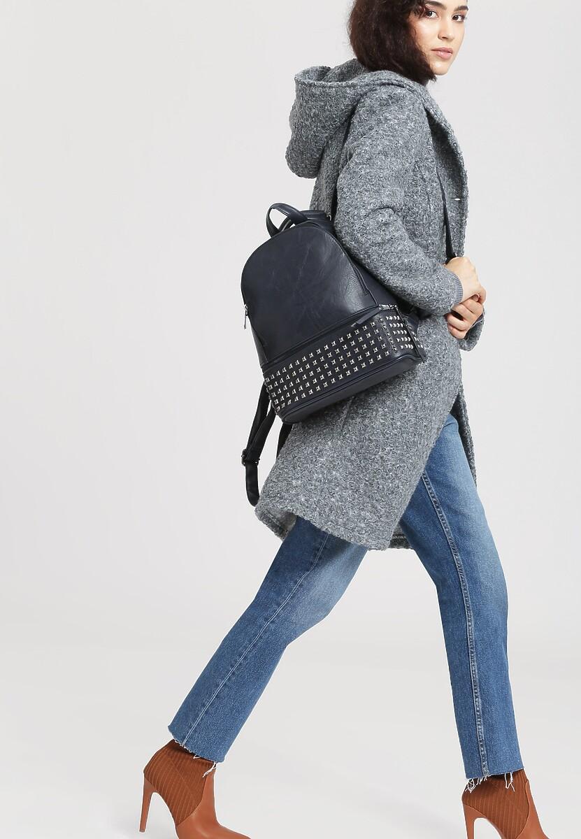 Granatowy Plecak Single