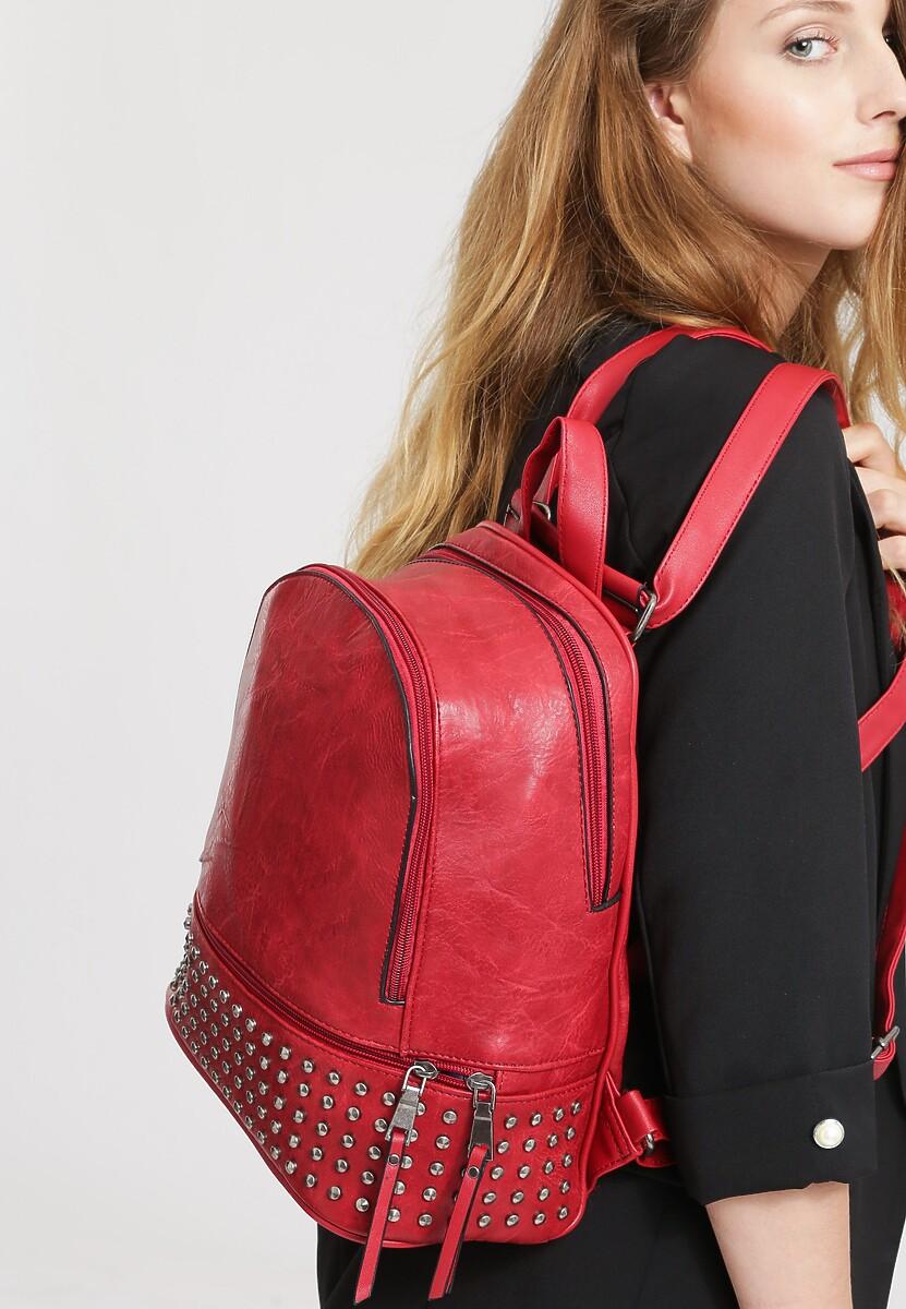 Czerwony Plecak Make Me Happy